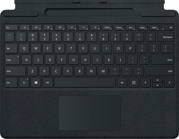 Microsoft Surface Pro X Signature Keyboard + Slim Pen Bundle schwarz (DE)