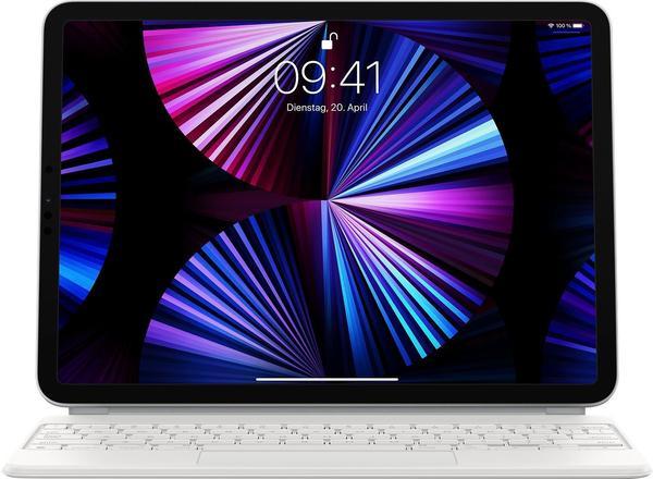 Apple Magic Keyboard für iPad Pro 11 (2. Generation) (Deutsch) Weiß