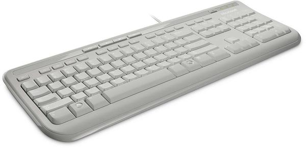 Microsoft Wired Tastatur 600 (weiß)(DE)