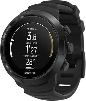 Suunto D5 with USB cable all black