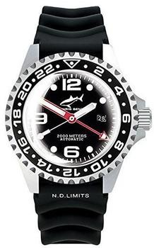 Chris Benz 2000M Automatic GMT (CB-2000A-D3-KB)