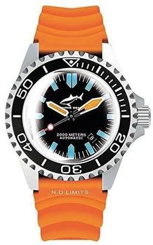 Chris Benz 2000M Automatic orange (CB-2000A-G3-KB-O)