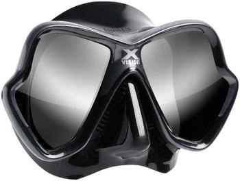 mares-x-vision-ultra-liquidskin-mirrored-black-silver