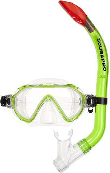 scubapro-spider-set-for-kids-green