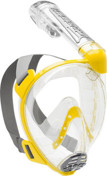 Cressi Duke yellow/clear