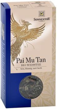Sonnentor Weißer Tee, Pai Mu Tan kbA (40 g)