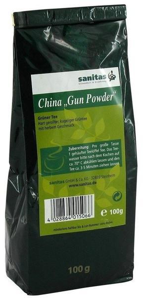 Sanitas Gunpowder Grüner Tee 100 g