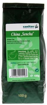 Sanitas Sencha Grüner Tee 100 g