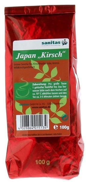 sanitas Grüner Tee Japan Kirsch (100 g)