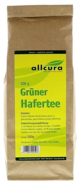 Allcura Gruener Hafertee Tee (100 G)