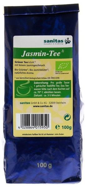 Sanitas Jasmin kbA Grüner Tee 100 g