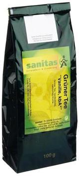 Sanitas Vanille Grüner Tee 100 g
