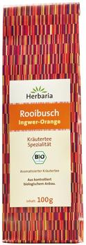 Herbaria Ingwer-Orange Rooibuschtee 100 g