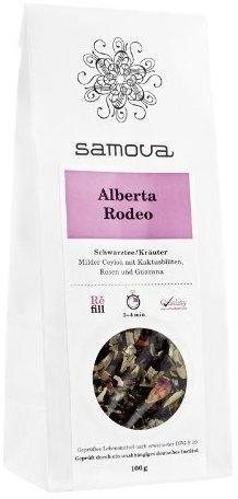 Samova Alberta Rodeo Refill Schwarzer Tee/Kräutertee 100 g