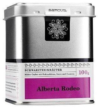 Samova Alberta Rodeo Schwarztee/Kräutertee 100 g