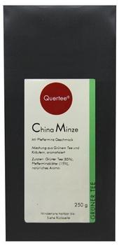 Quertee China Minze Grüner Tee 250 g