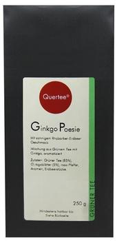 Quertee Sencha Ginkgo Poesie Grüner Tee 250 g