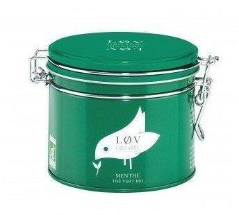 LØV ORGANIC Menthe Grüner Tee 100 g