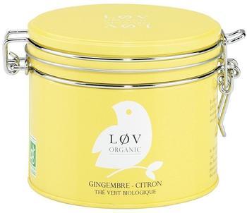 LØV ORGANIC Ingwer Zitrone Grüner Tee 100 g