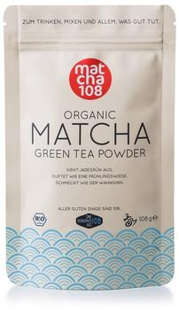 matcha108 Organic Matcha Green Tea Powder (108g)