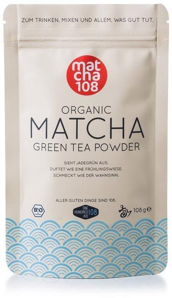 matcha108 Organic Matcha Green Tea Powder (108g)