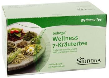 Sidroga Wellness 7-Kräutertee (20 Stk.)