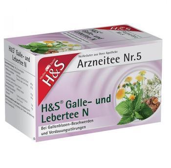 H&S Galle- und Lebertee N 20 St.