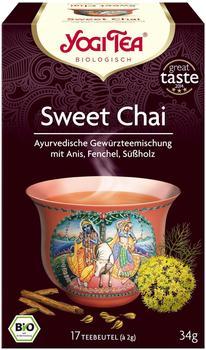 Taoasis Yogi Tea Sweet Chai (17 Stk.)