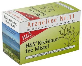H&S Kreislauftee Mistel Nr. 31 (20 Stk.)