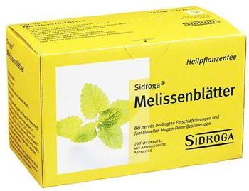 Sidroga Melissenblätter (20 Stk.)