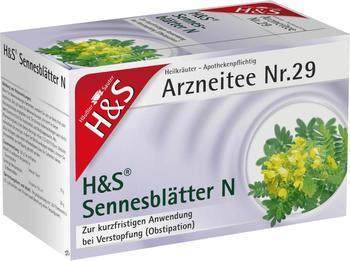 H&S Sennesblätter N Tee 20 St.
