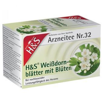 H&S Weißdornblätter mit Blüten Nr. 32 (20 Stk.)