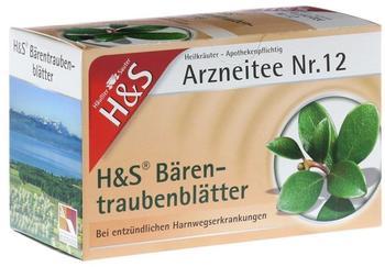 H&S Bärentraubenblätter Tee 20 St.
