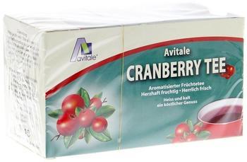 Avitale Cranberry Tee Filterbeutel (20 Stk.)