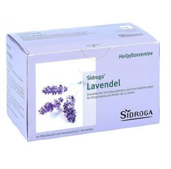 Sidroga Lavendel Filterbeutel (20 Stk.)