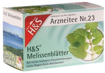 H&S Melissenblätter Nr. 23 (20 Stk.)