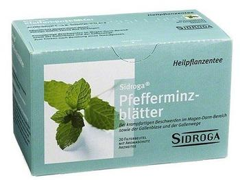 Sidroga Pfefferminzblätter (20 Stk.)