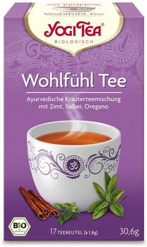 Taoasis Yogi Tea Wohlfühl Tee (17 Stk.)