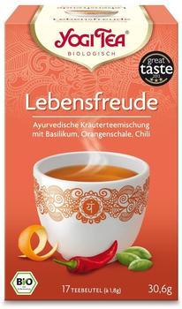 Taoasis Yogi Tea Lebensfreude Tee (17 Stk.)