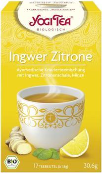 Yogi Tea Ingwer Zitrone (17 Stk.)