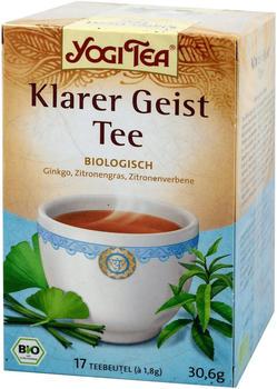 Taoasis Yogi Tea Klarer Geist Tee (17 Stk.)
