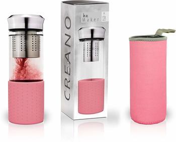 Creano Teamaker mit Neoprenhülle rosa