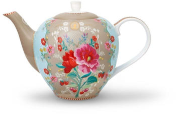 PiP Studio Teekannne Floral Rose (1,6 L) khaki