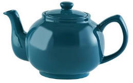 Price & Kensington Brights Cup Teapot Teal Blue
