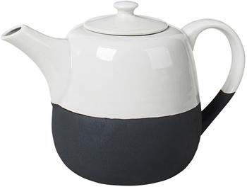 Broste Copenhagen Teekanne Esrum weiß/grau 1,3l