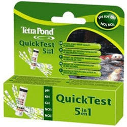 Tetra Pond QuickTest 5 in 1
