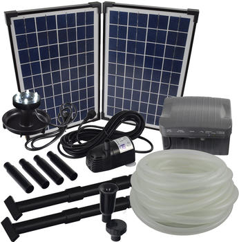 Agora-Tec Solar Bachlaufpumpe Set 20W (001001048)