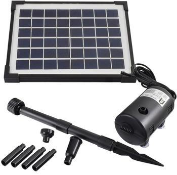Agora-Tec Solar Bachlaufpumpen-Set 5W (001001002)