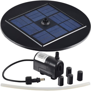 Agora-Tec Solar Teichpumpen - Set 1.5W mit Schwimmscheibe (001001026)