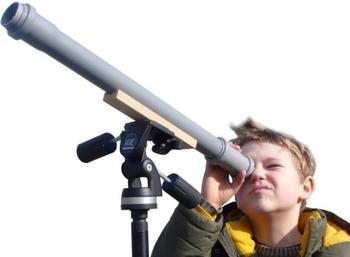 AstroMedia Baumarkt-Teleskop (10-240.BLT)